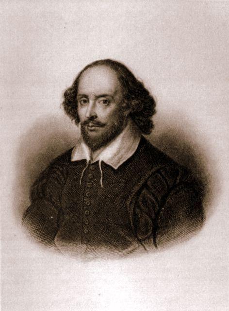 shakespeare, drammaturgo inglese