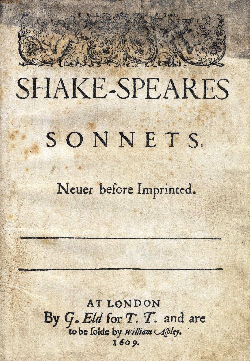 shakespeare, sonetti