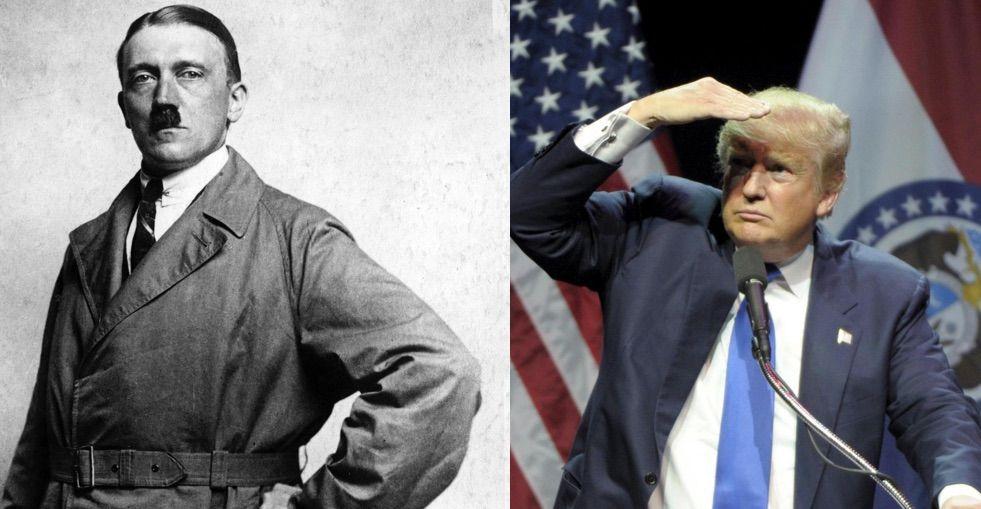 Donald Trump è il nuovo Adolf Hitler?