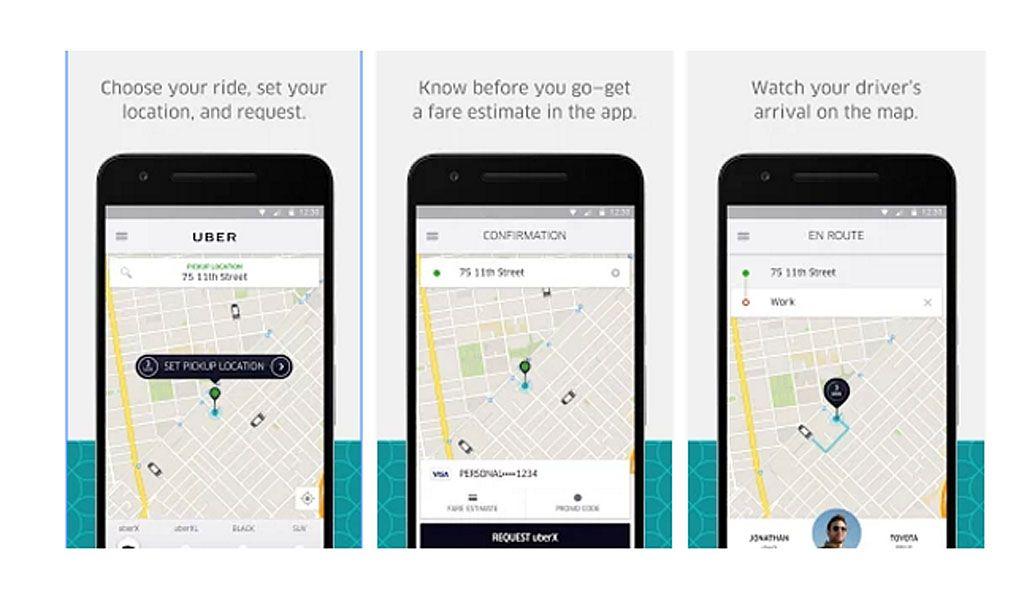 Uber app: una funzione per condividere i pagamenti