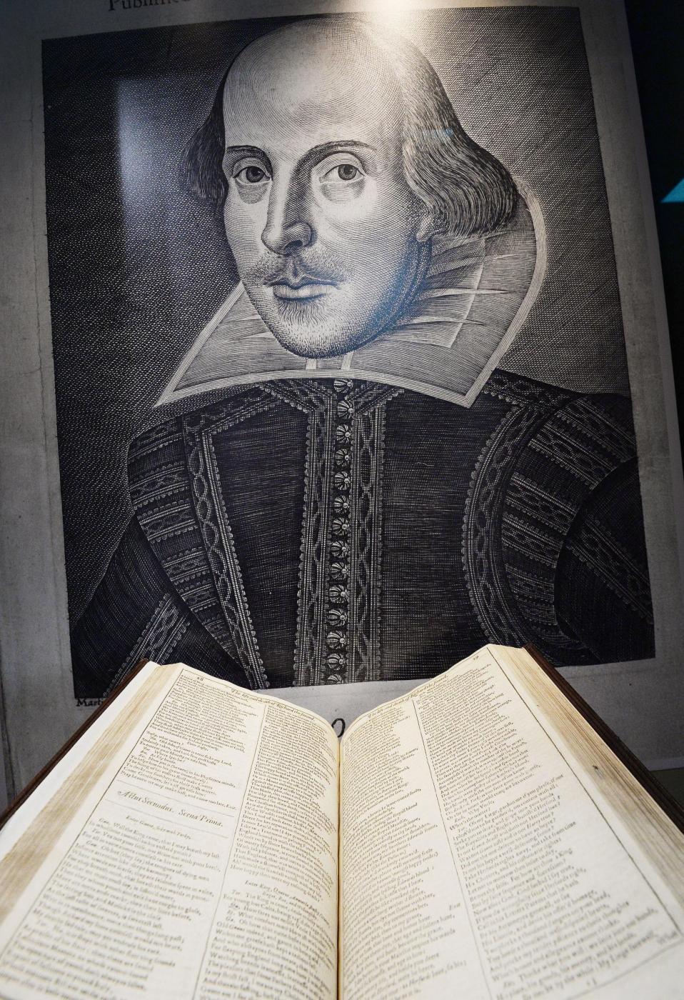 william shakespeare, drammaturgo inglese