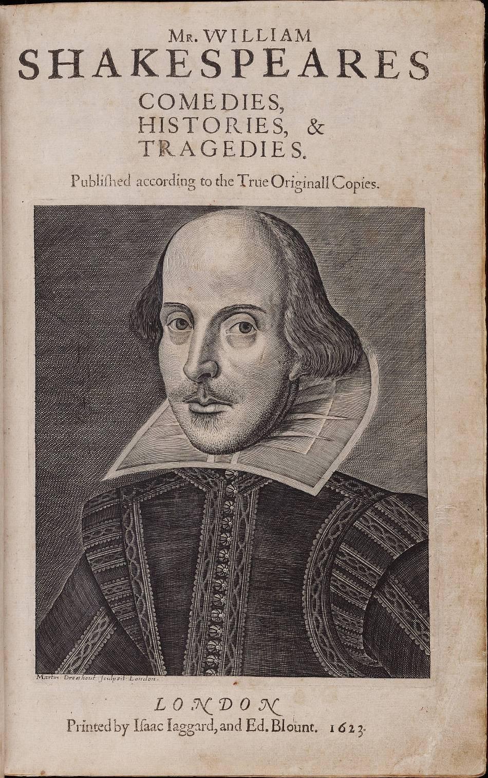 william shakespeare, opere