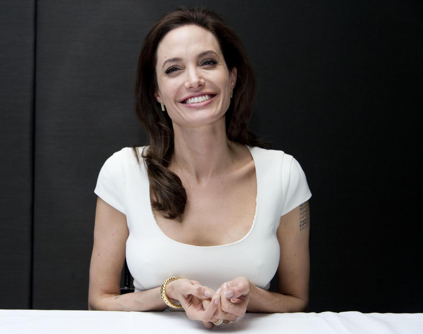 Angelina Jolie presenta il film Unbroken