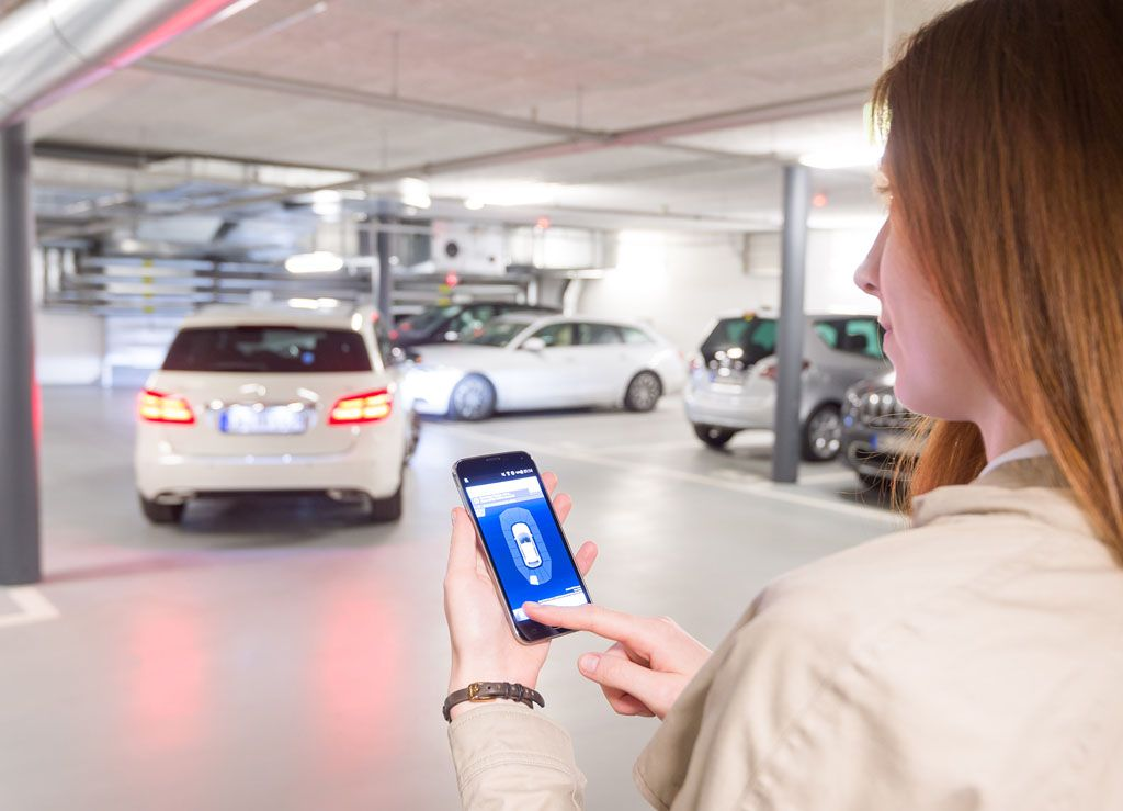 Bosch parcheggio automatico