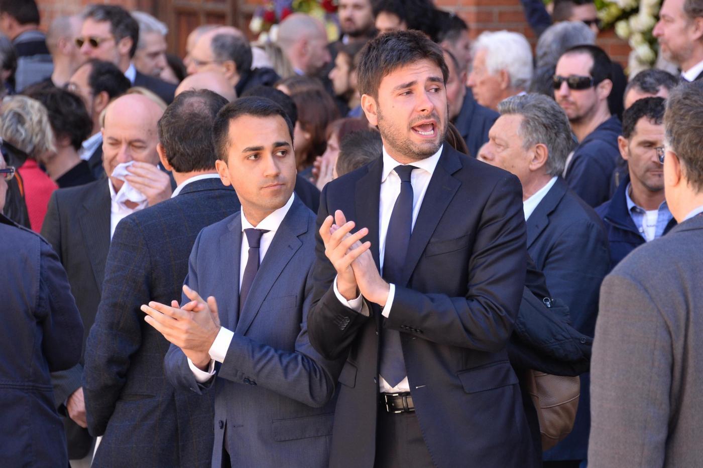 Funerale Gianroberto Casaleggio a Milano