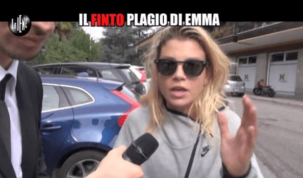 Emma arrabbiata a Le Iene