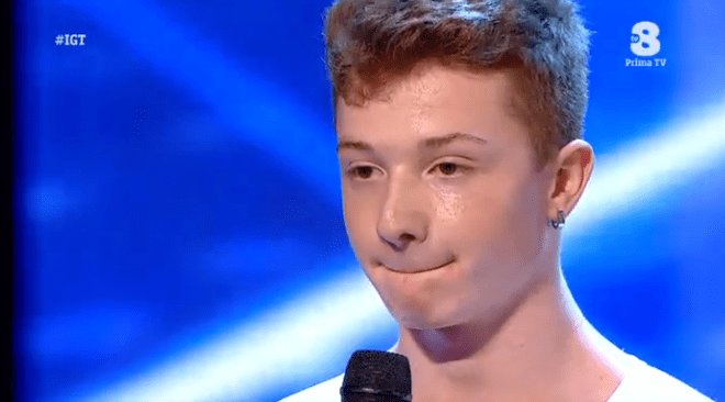 Federico Pietrucci balla a Italia's got talent 2016