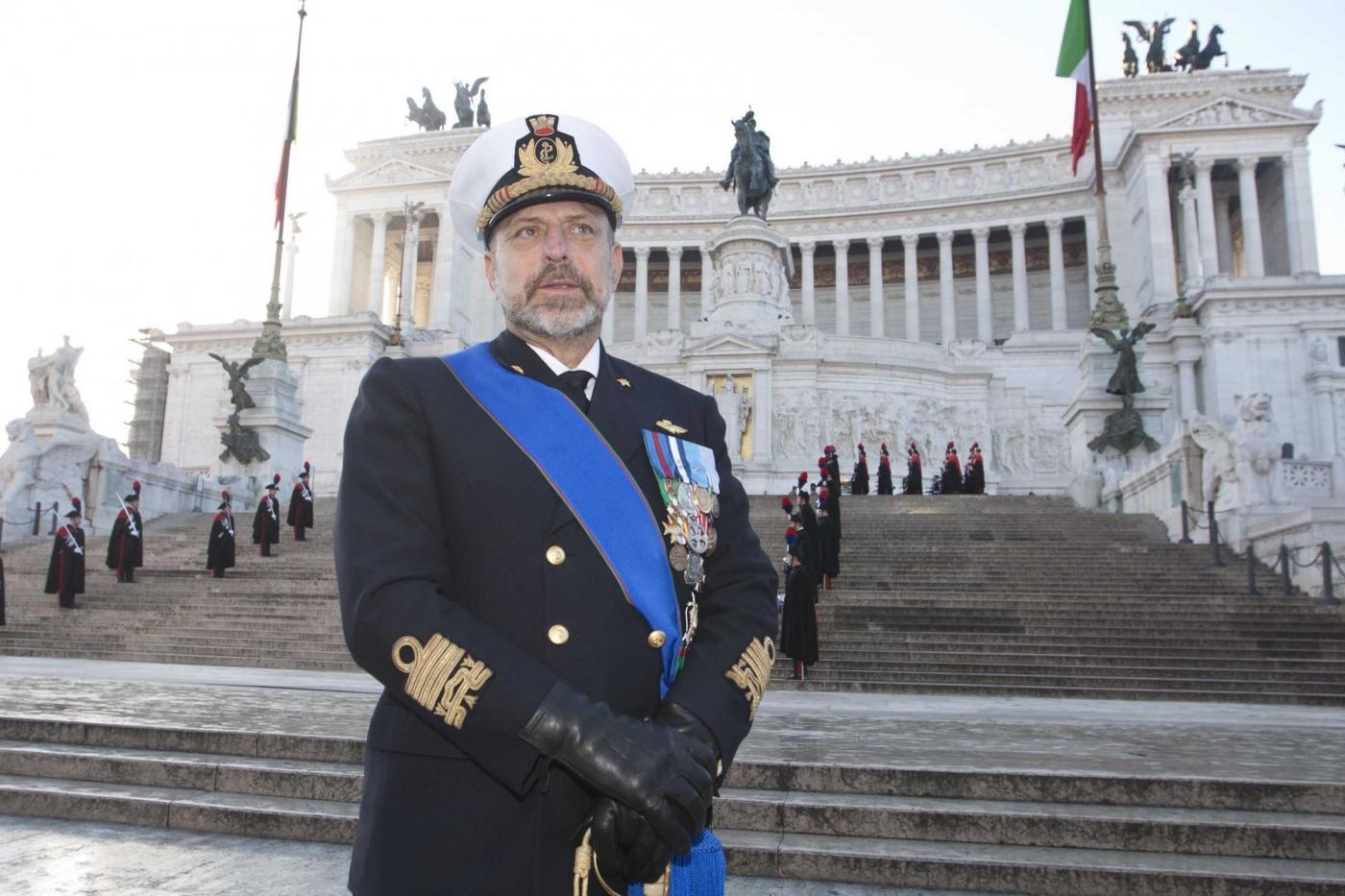 Dossier De Giorgi: le spese milionarie dell'ammiraglio capo della Marina