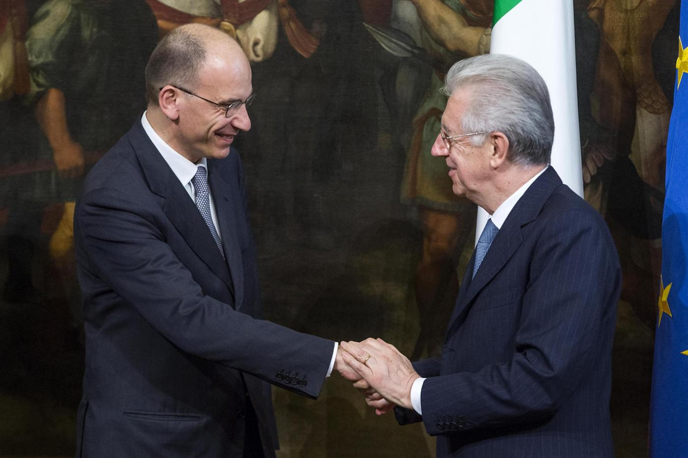 Letta e Monti sono due membri Trilateral
