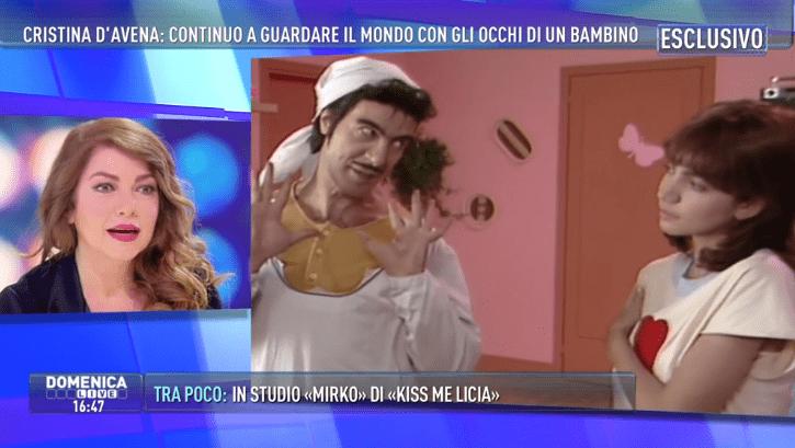 Cristina D'Avena: 'In Kiss me licia Mirko tentava sempre di baciarmi'