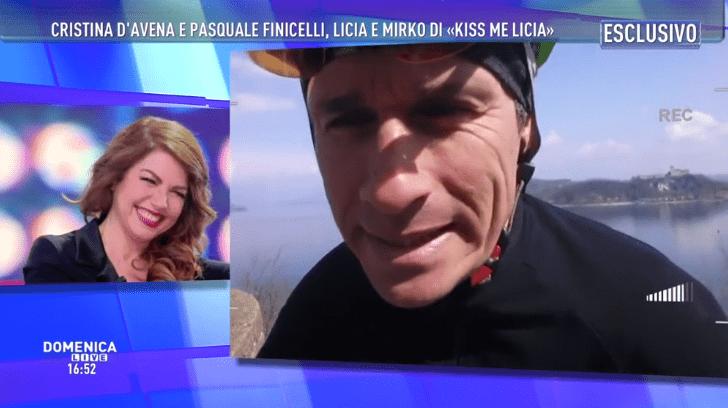 Marco Bellavia a Domenica Live