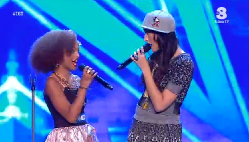 Italia's got talent 2016: Nina Zilli canta insieme a una sua fan
