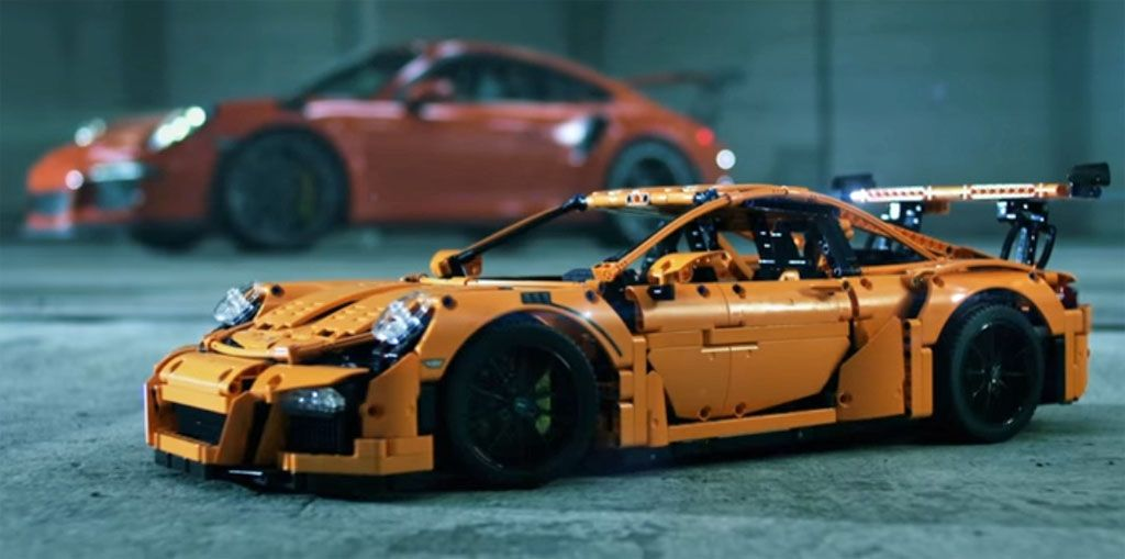 Porsche 911 Lego: una GT3 RS tutta da costruire