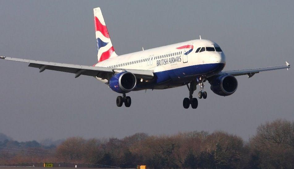 Presunta collisione drone aereo British
