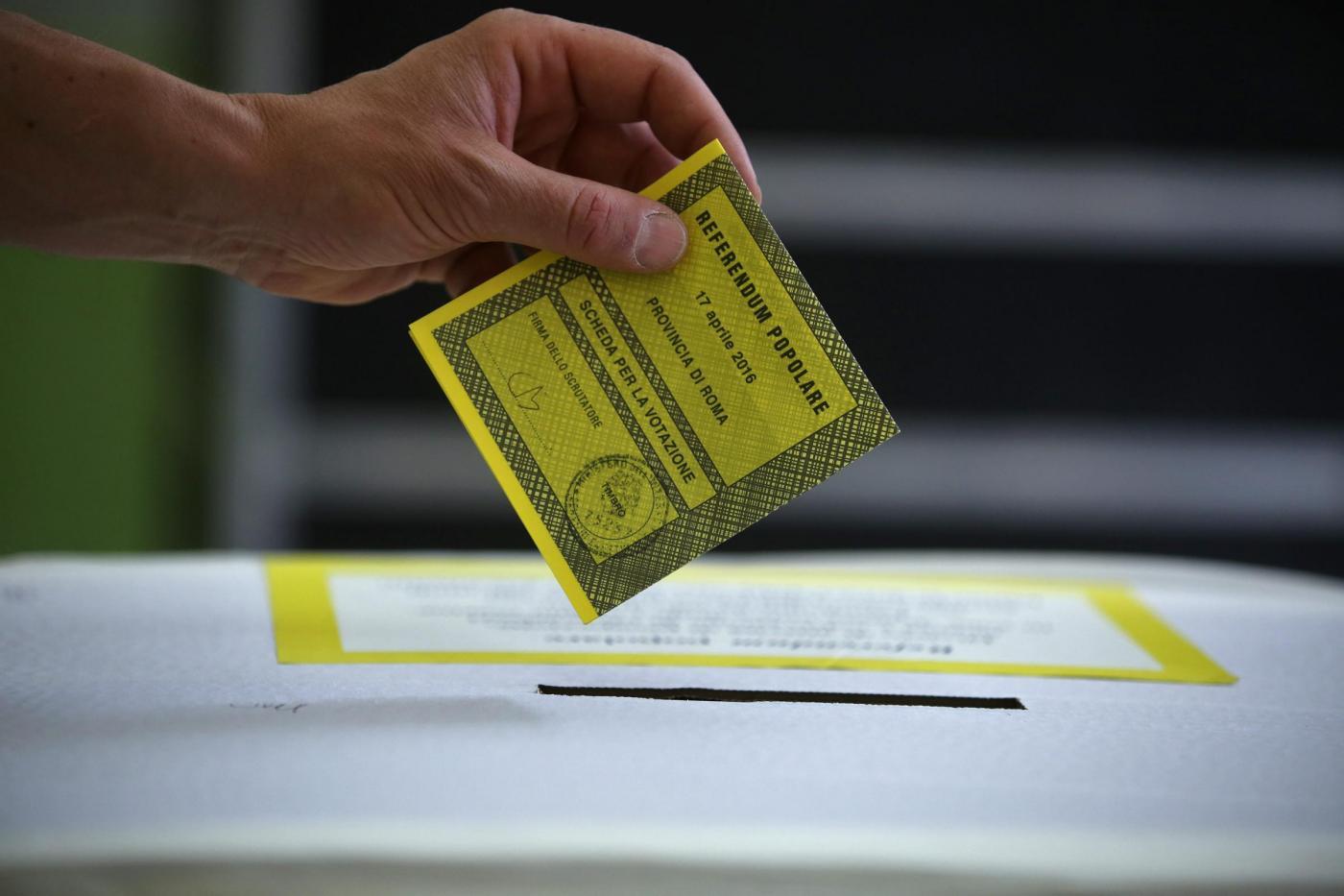 Referendum trivelle: affluenza e risultati regione per regione