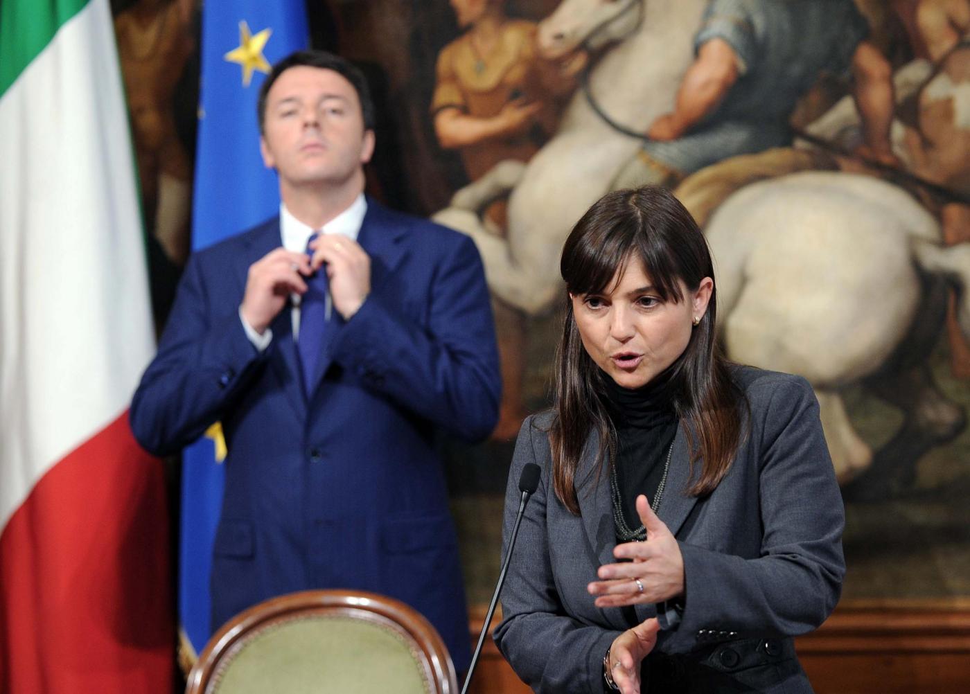 Matteo Renzi e Debora Serracchiani
