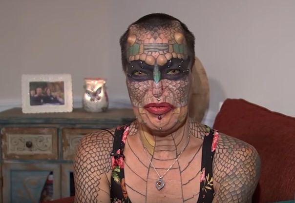 Ex banchiere transgender si trasforma in drago
