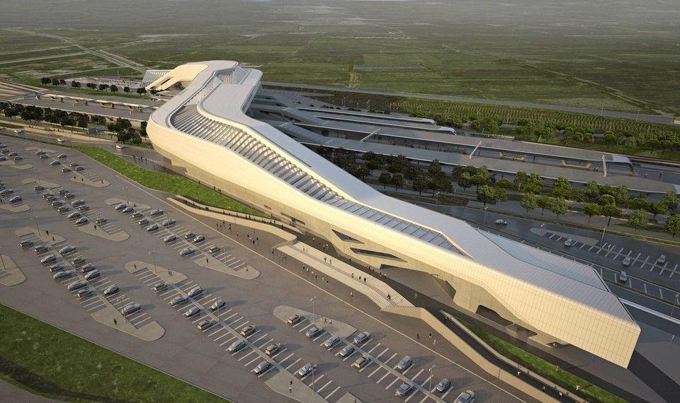 Stazione di Afragola, Zaha Hadid
