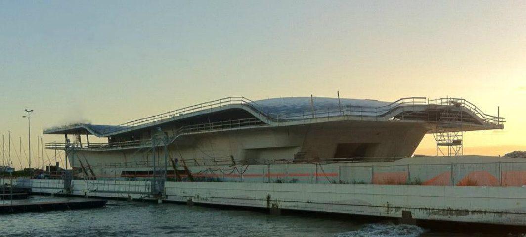 Stazione marittima di salerno, zaha hadid