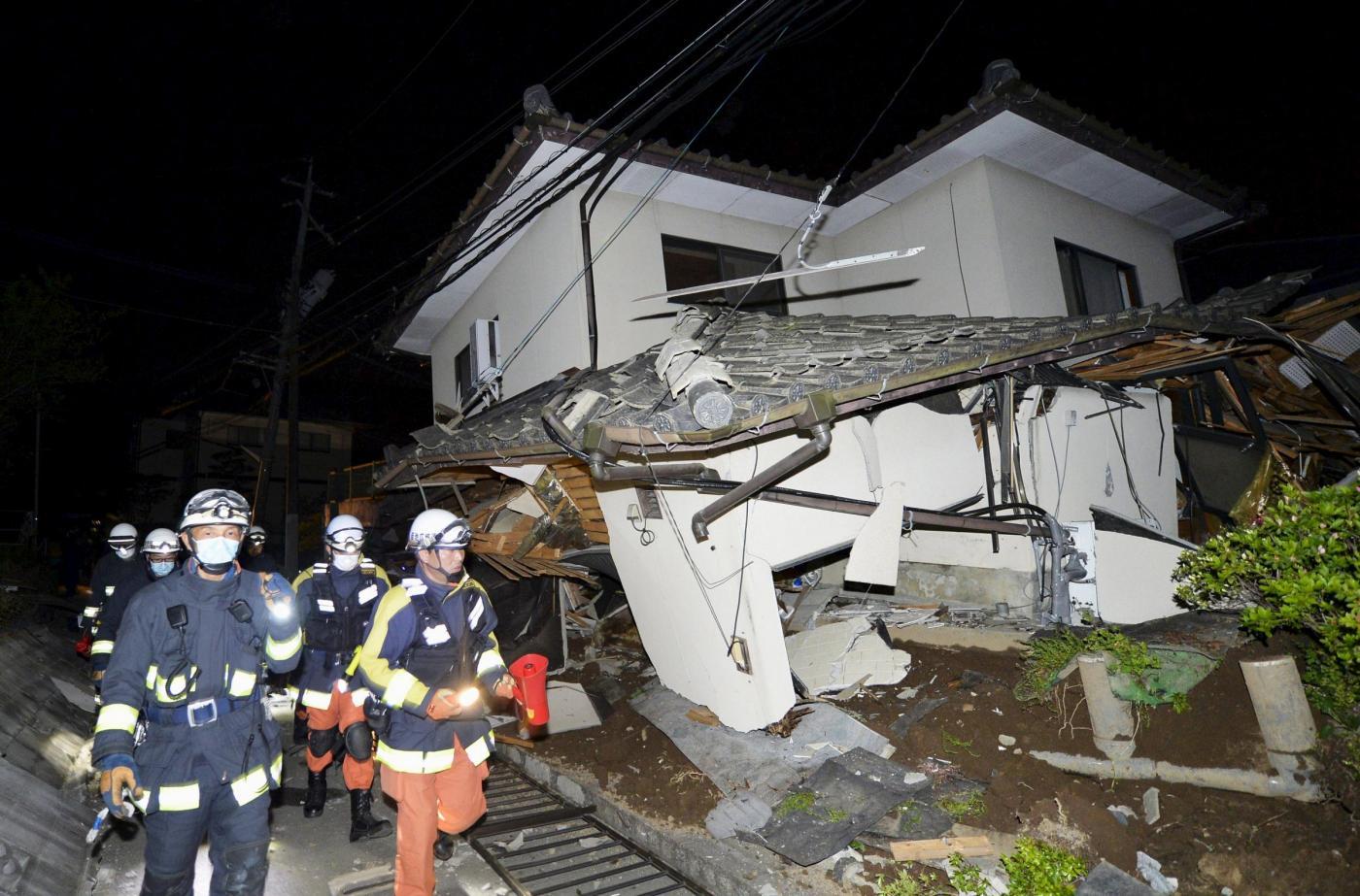Violento terremoto in Giappone