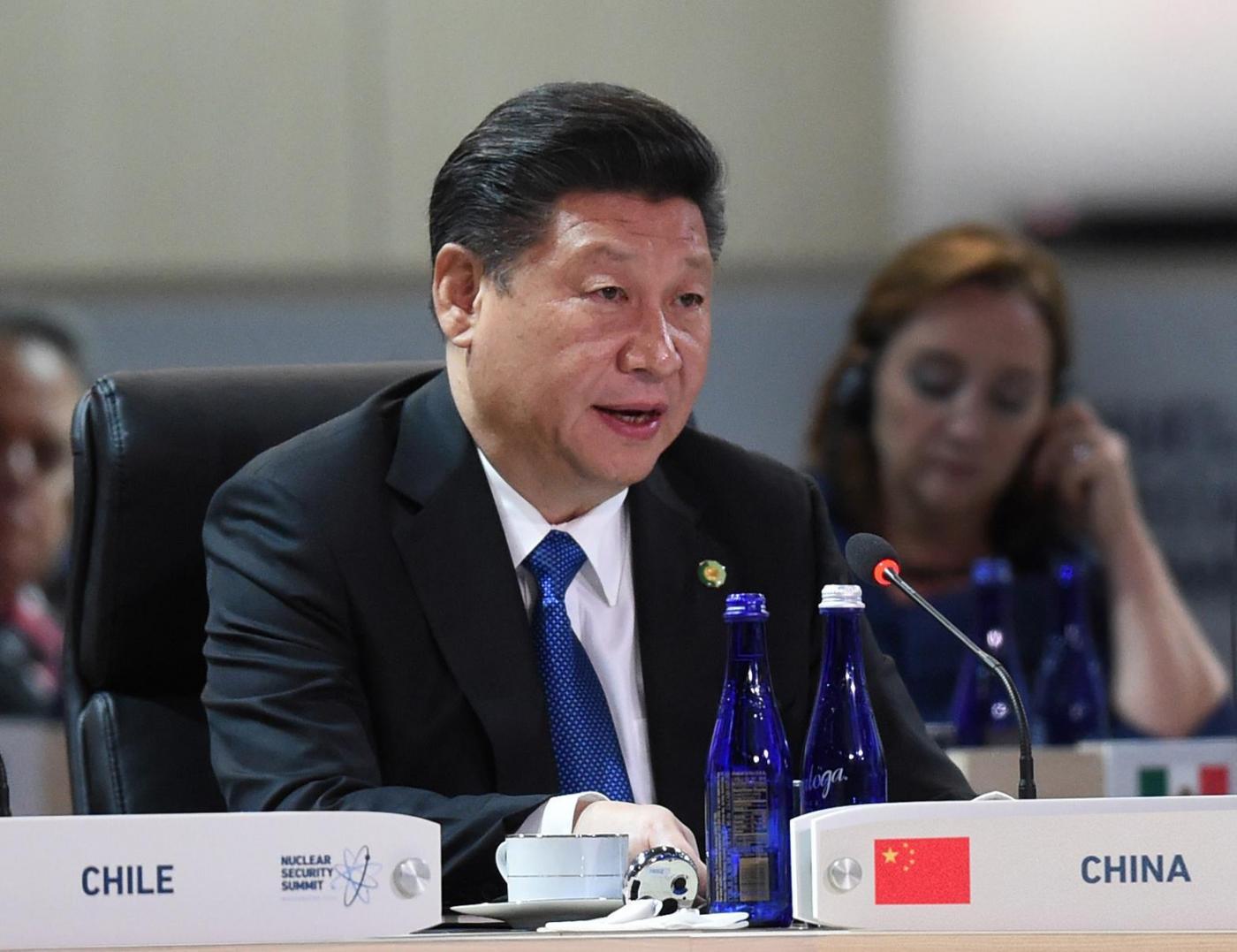 U.S. WASHINGTON D.C. CHINA XI JINPING NUCLEAR SECURITY SUMMIT