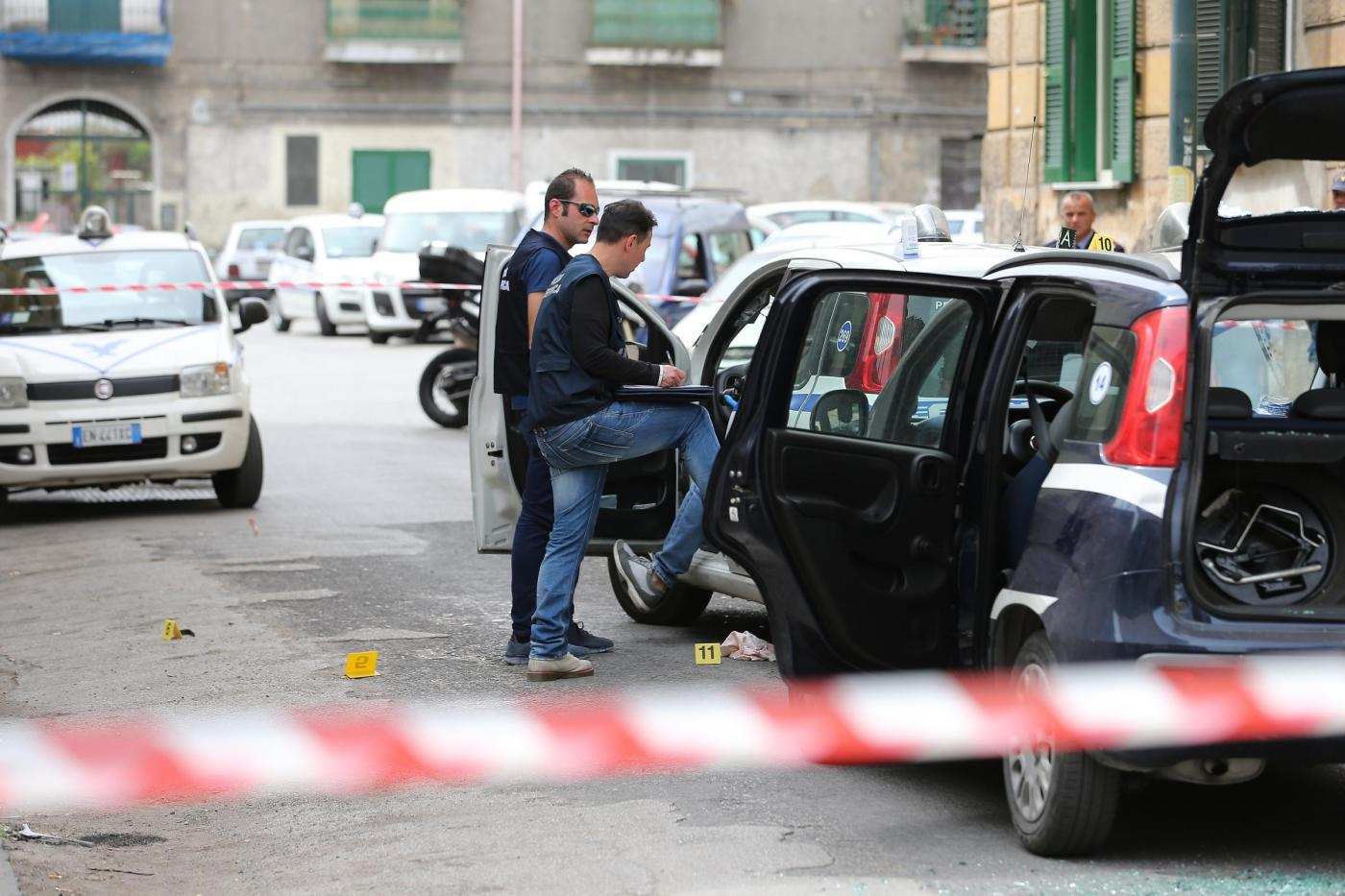 Assalto a portavalori a Napoli