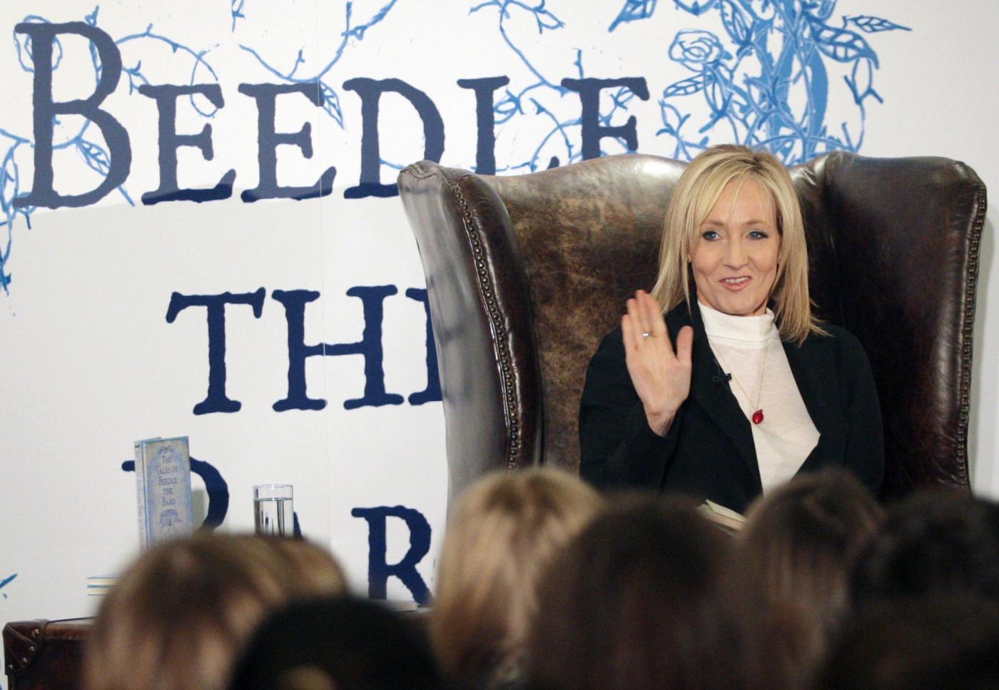 Harry Potter: all'asta la sedia di J.K. Rowling
