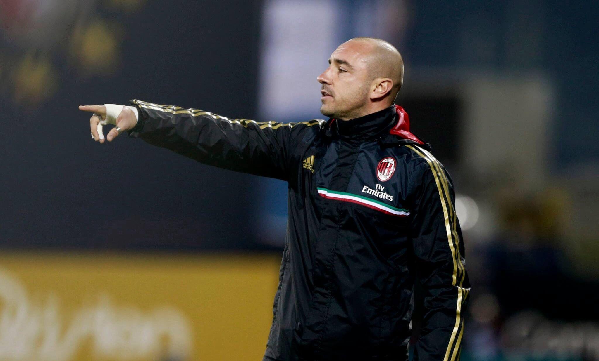 Brocchi è il nuovo allenatore del Milan
