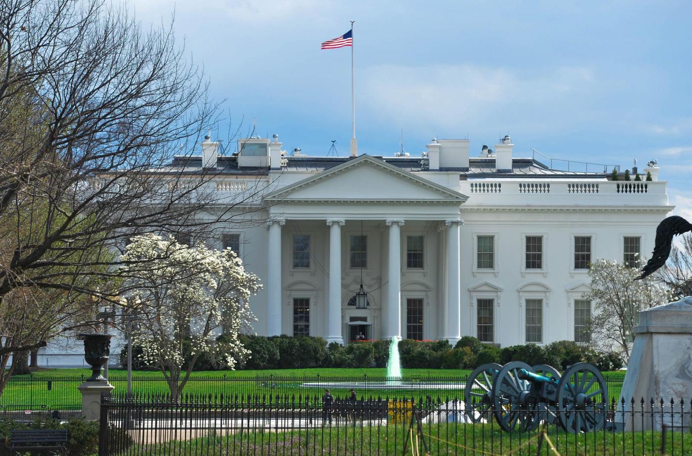 Washington, la fontana della Casa Bianca