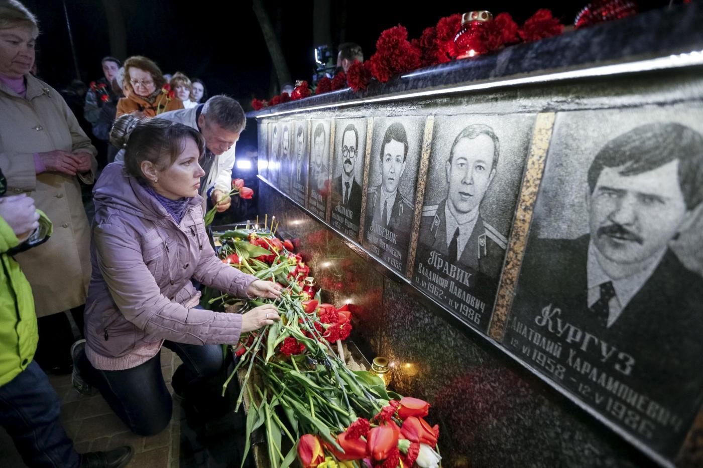 commemorazione vittime Chernobyl