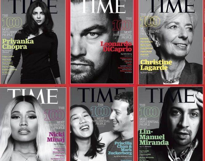 Le 100 persone più influenti dell'anno secondo Time: due italiani in lista