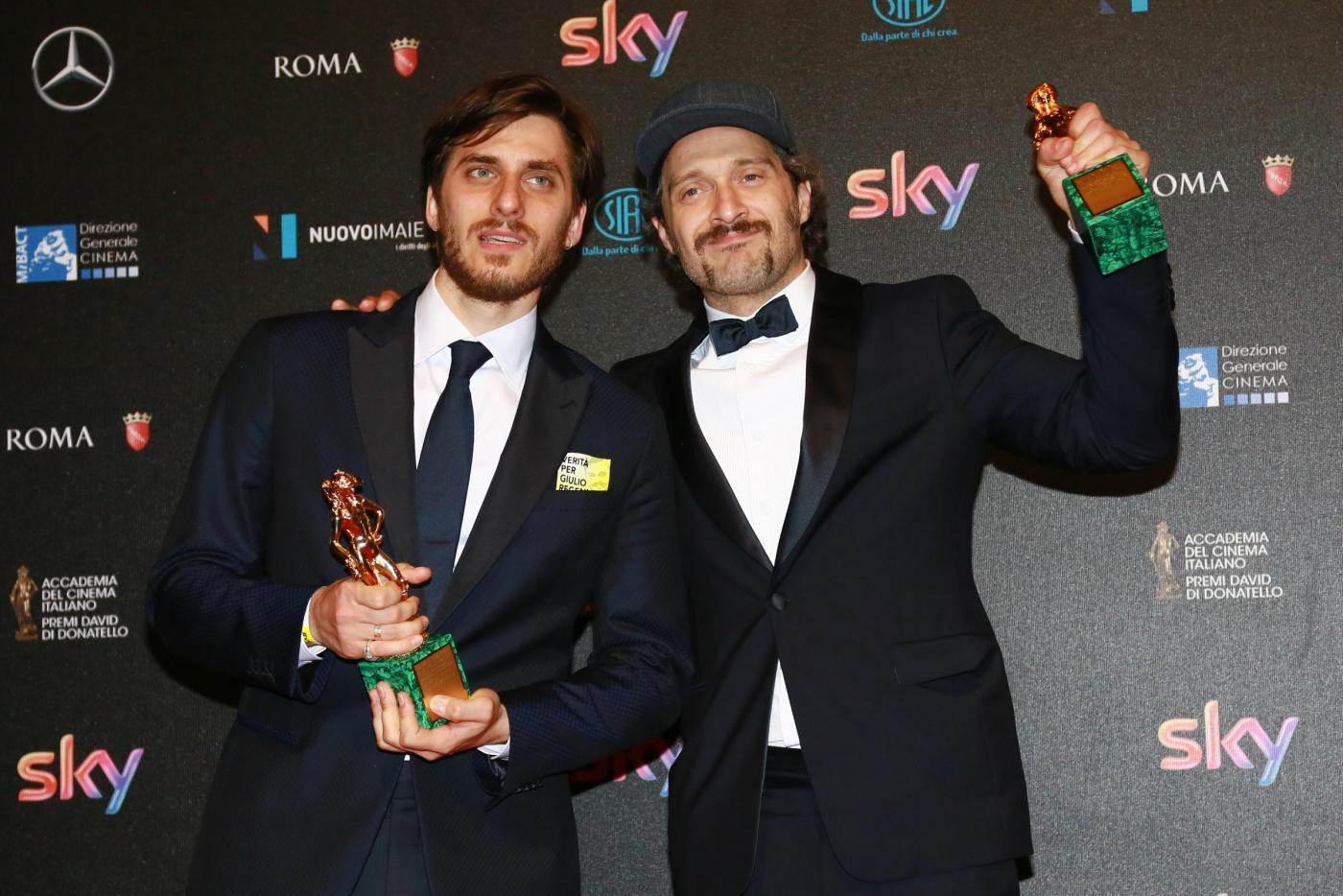 David di Donatello 2016, vincitori: trionfo Jeeg Robot ma il miglior film è Perfetti Sconosciuti