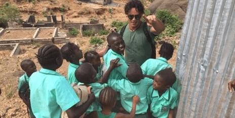 Gabriel Garko: l'attore in Sierra Leone per sostenere i bambini africani