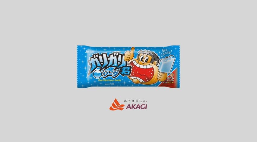 gelato ghiacciolo akagi