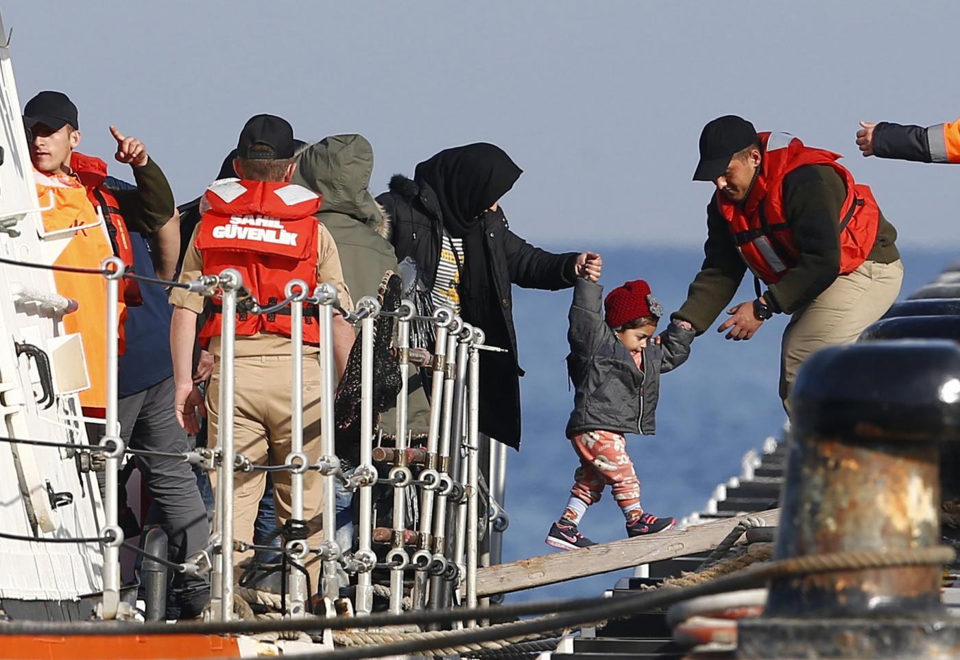 Erdogan chiede lo stop all'accordo con l'Unione Europea
