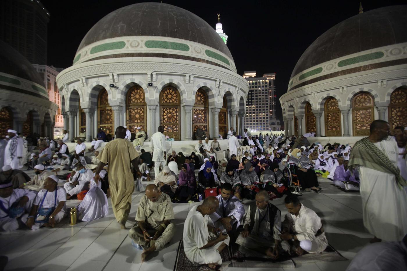 Pellegrini musulmani