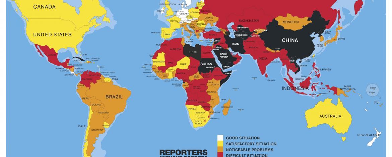 Libertà di stampa, peggiora l'Italia: è 77esima