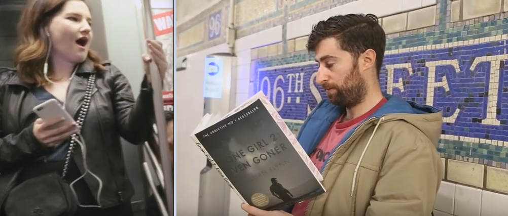 libri titoli falsi in metro
