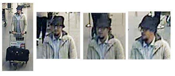 Bruxelles, il percorso dell'uomo col cappello dopo l'attentato a Zaventem