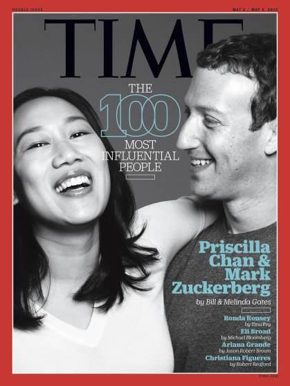 mark zuckerberg priscilla chan time 100 cover