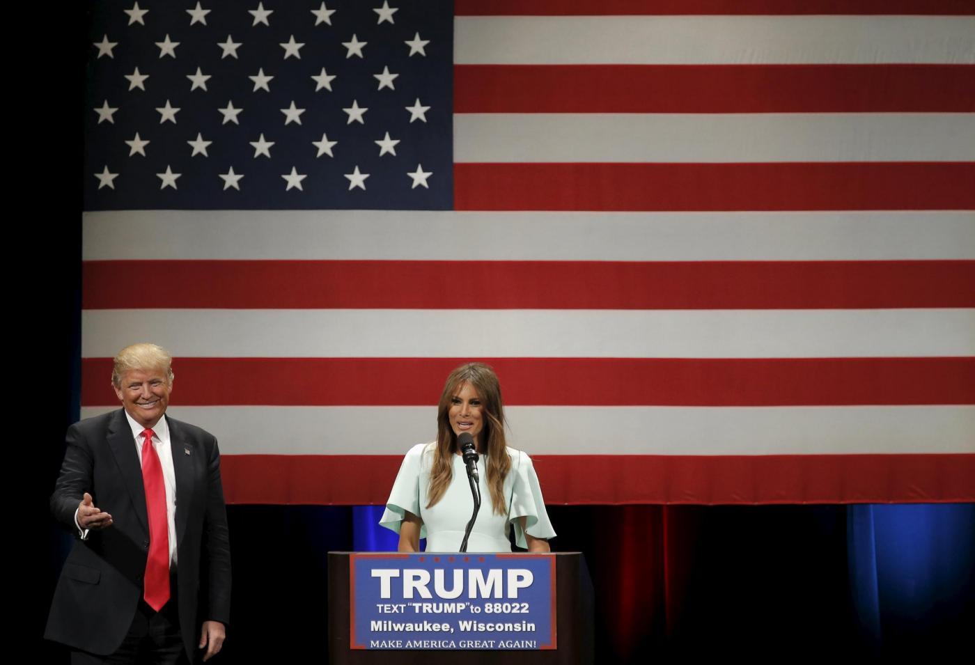 Primarie USA 2016, Melania Trump in campo per il marito: scoppia la guerra delle mogli