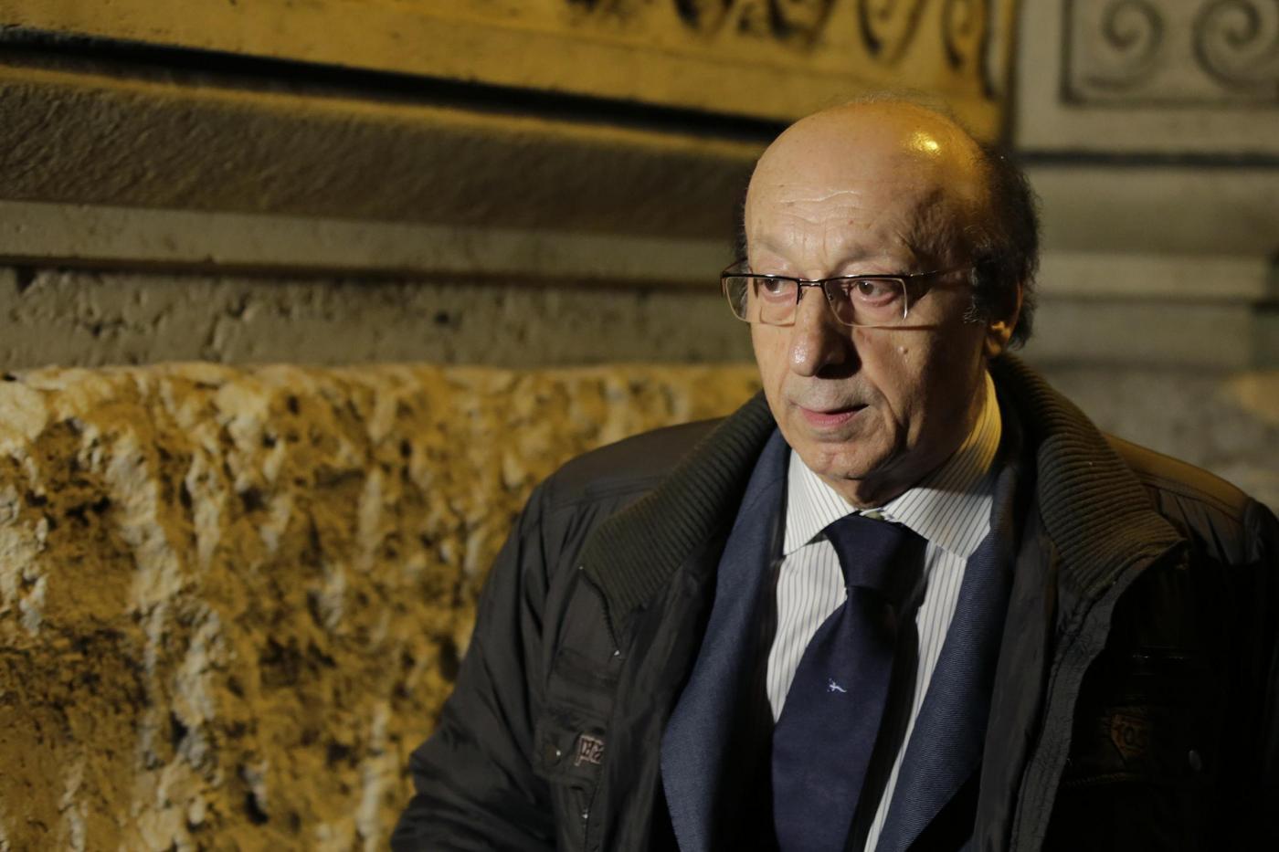 Luciano Moggi in Cassazione per la sentenza su Calciopoli