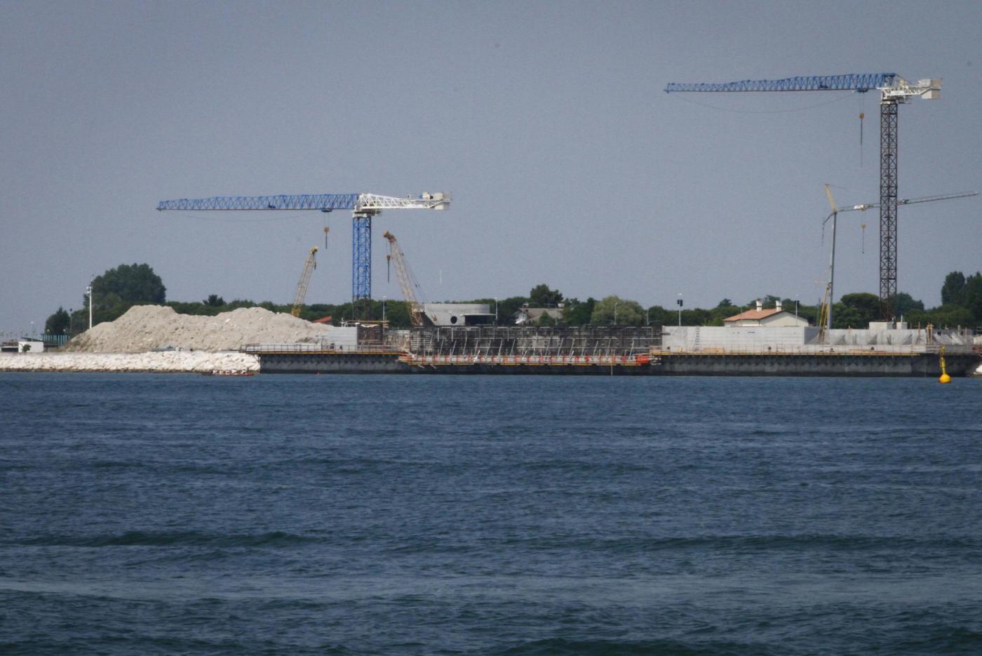Il sistema MOSE progettato per la difesa di Venezia e della laguna dalle acque alte