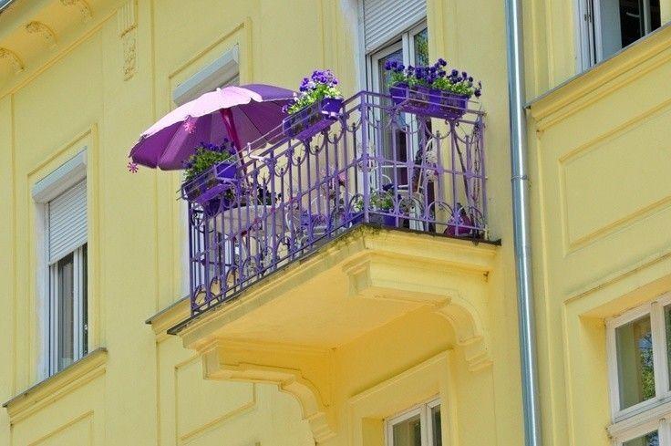 ombrellone balcone