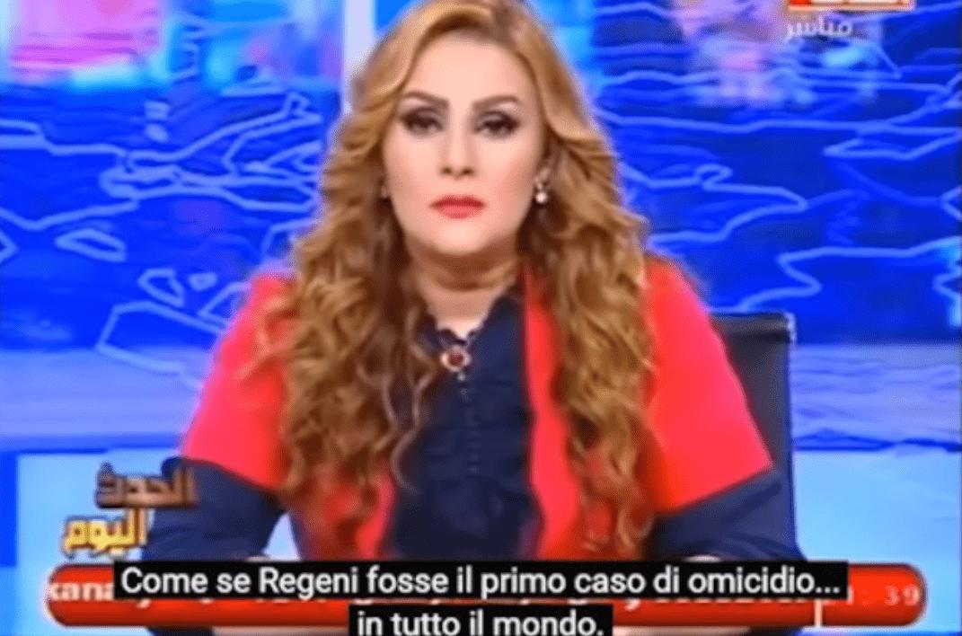 Giulio Regeni, presentatrice tv egiziana lo manda al diavolo: 'Non è mica il primo omicidio commesso nel mondo'