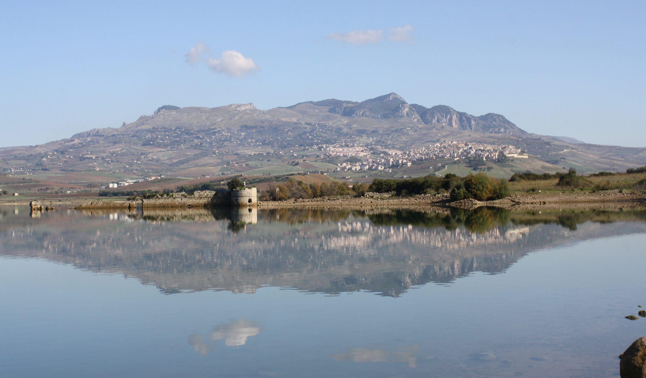 sambuca sicilia lago