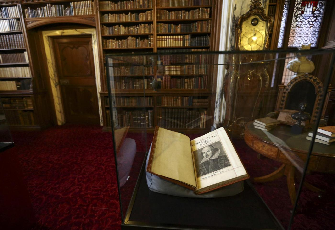 Shakespeare, opere: ritrovato raro esemplare di 'primo in folio'