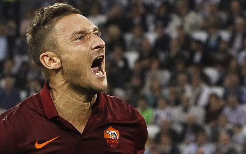 Francesco Totti, i record battuti con la maglia della Roma