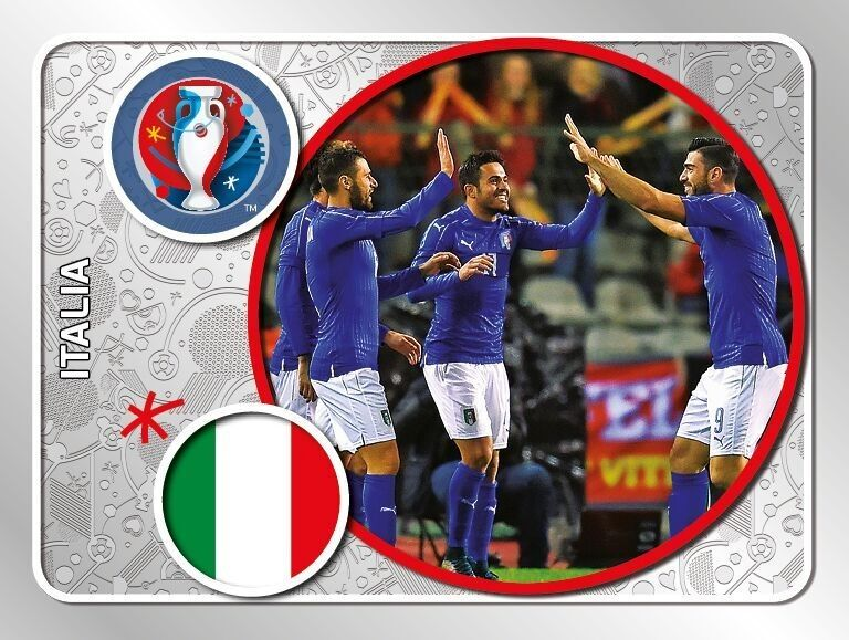 L'Italia nell'Album di Euro 2016 firmato Panini