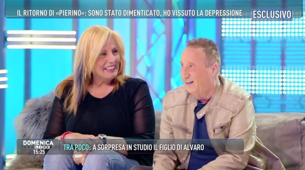 Alvaro Vitali a Domenica Live